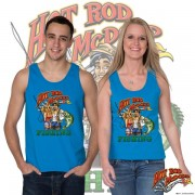 HR011F Hot Rod Fishing Tank Top