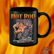 HR006BFB Hot Rod Motorcycles Black 15oz Coffee Mug