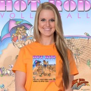 HR003B Hot Rod Volleyball T-shirt