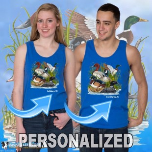 15002PND Ducks Canadian Goose Tank Top Personalized