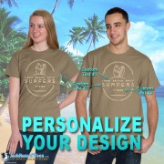 2045PND Long Beach West Surfers Personalized