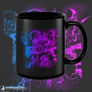 9640BFB Wizard Black 15oz Coffee Mug