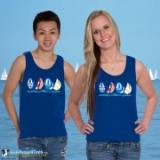 9000 Sailboats On The Horizon Tank Top