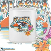 9400WFB Wild Alaska White 15oz Coffee Mug