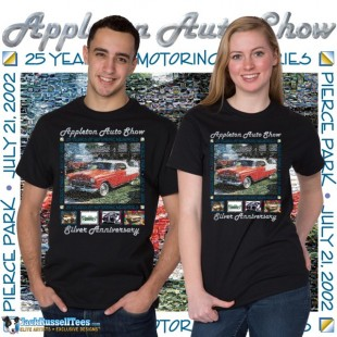 AAS2002 Appleton Old Car Show 2002 T-shirt