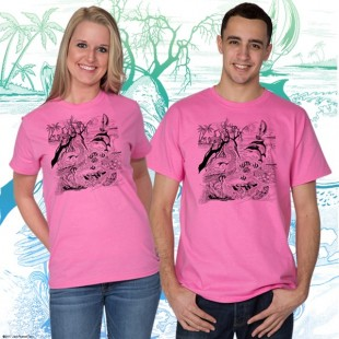 7500 Tropical Wildlife T-shirt