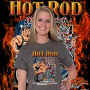 HR006B Hot Rod Motorcycle T-shirt