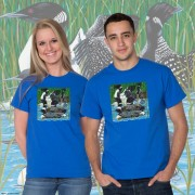 15003 Loon Party at the Lake T-shirt