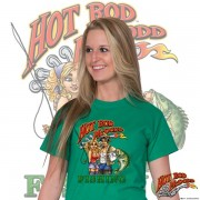 HR011F Hot Rod Fishing T-shirt