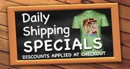 Daily Shipping Specials